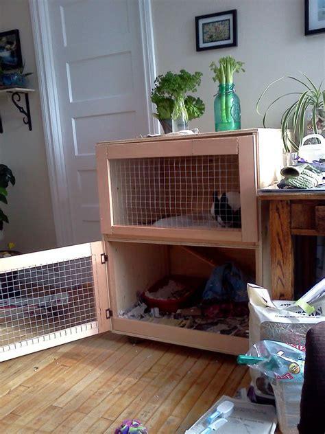 Wooden Indoor Wooden Rabbit Cage Plans Pdf Plans