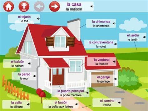 apprendre les pieces de la maison en espagnol