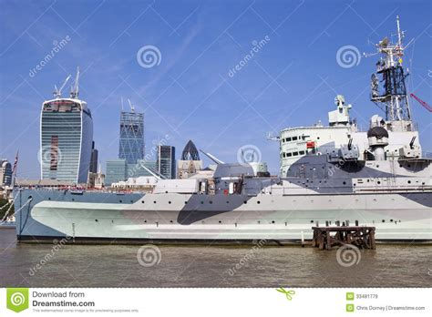 Boat Prices From Belfast To England by Hms Belfast Moored On The River Thames In London Stock