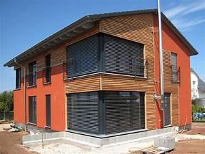 Engelhardt Und Geissbauer : einfamilienhaus modern holzhaus satteldach holzfassade modern eckfenster franz sicher balkon ~ Markanthonyermac.com Haus und Dekorationen