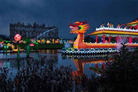 Dragon Boat House by A Festival Of Lights At Longleat Greatdays Group Travel