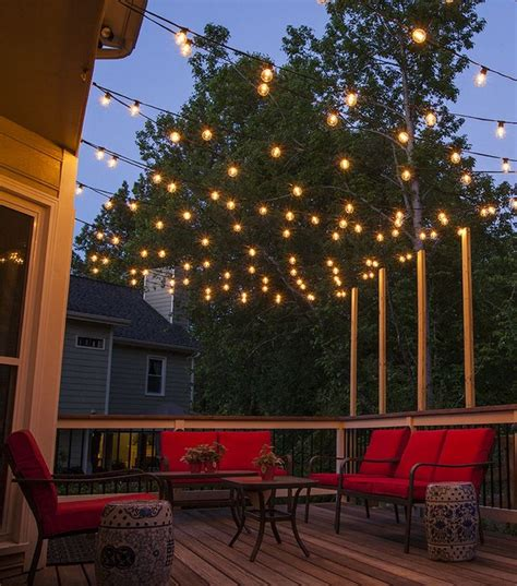 Patio And Deck Lighting Ideas by Deck Lighting Ideas To Get Warm And Cozy