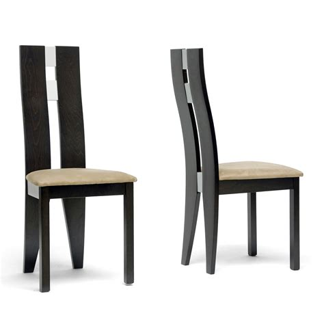 baxton studio cb 2406ybh 2 casablanca dining chair set of