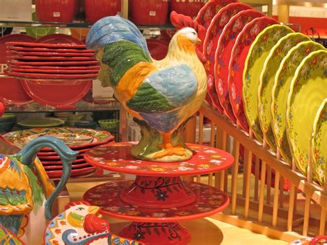 Home Interior Rooster Dishes : 17 Best Images About Rooster Decor On Pinterest