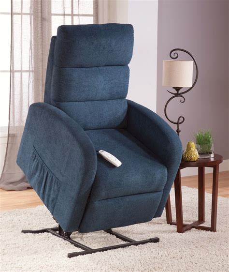 serta newton power lift chair recliner in color petrol