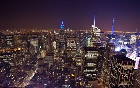 panoramio photo of spectacularly view of new york city at from top of the rock