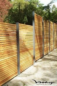 Sichtschutzzaun Bambus Holz : gartenzaun sichtschutz modern nowaday garden ~ Markanthonyermac.com Haus und Dekorationen