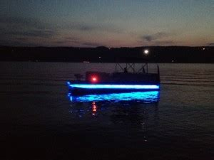 Installing Led Strip Lights On Boat by Pontoon Underdeck Lights Boat Wiring Easy To Install
