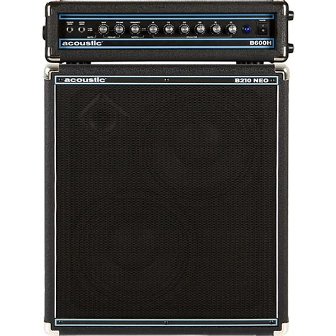 2x10 Bass Cabinet Neo by Acoustic B600h 600w Bass Head And B210neo 2x10 Bass