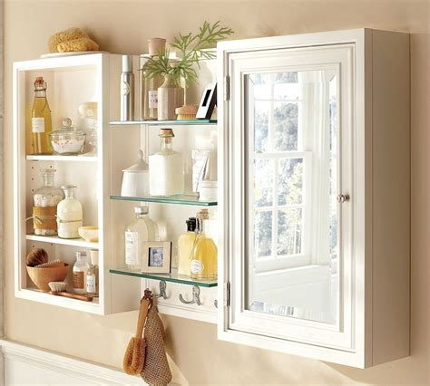 brilliant idea of bathroom wall cabinets design for saving