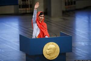 Malala Yousafzai Nobel Peace Prize Ceremony Stormed By ...