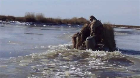 Duck Hunting Without Boat by Duck Boat Duck Boss 15 Duck Hunting Boat Youtube
