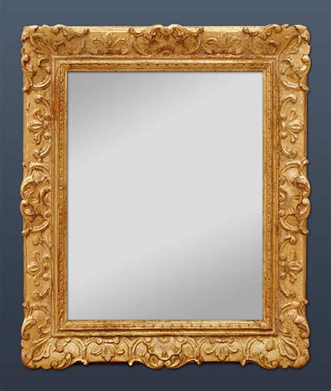 miroir ancien style louis xiv