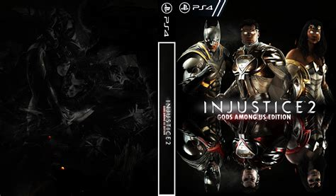 injustice gods among us cover custom cover injustice 2 gods among us edition injustice