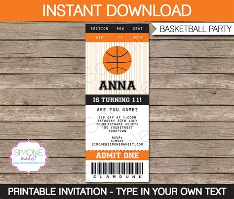 Ticket Template Gameday by Best 20 Basketball Tickets Ideas On Pinterest