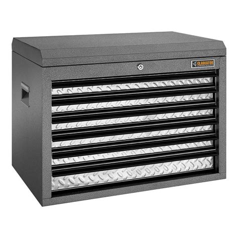 gladiator premier series 26 in w 6 drawer top tool chest