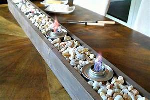 21 Warm DIY Tabletop Fire Bowl (Fire Pit) Ideas For Small ...
