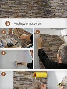 Vinyltapete Tapezieren Tipps : die besten 25 tapezieren ideen auf pinterest pr getapeten tapetendecke und texturierte ~ Markanthonyermac.com Haus und Dekorationen