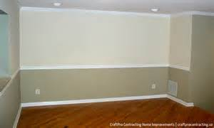 top painting rooms with chair rails two colors wallpapers