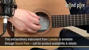 Lowden F23c Acoustic Guitar Demo Recording - YouTube