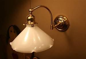 Anna Wand Lampe : lampada da parete anna con snodo in vetro soffiato ~ Markanthonyermac.com Haus und Dekorationen