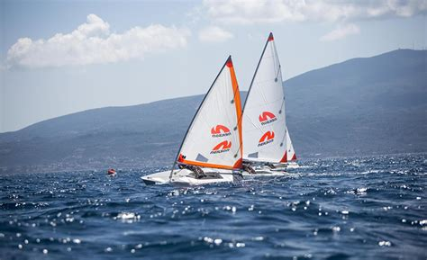 Catamaran Sailing Tuition by Dinghy Sailing Holidays Free Tuition Rya Courses Neilson