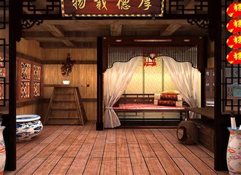 [解謎逃脫] 逃出中國古風繡樓 (chinese Classical Bedroom Escape)-flash