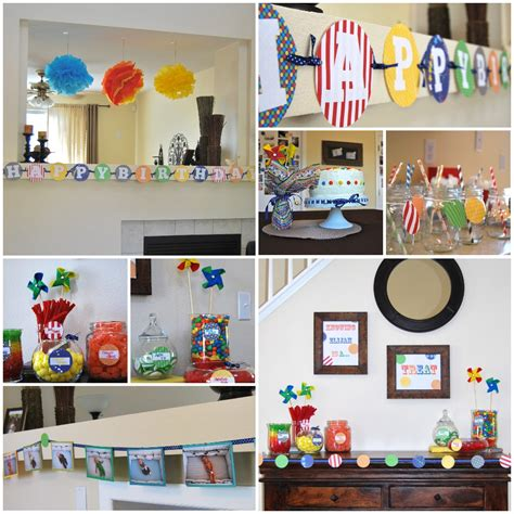 Elijah's First Birthday {a Colorful Celebration