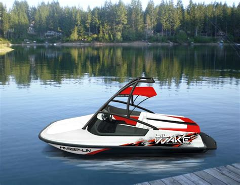 Wake Boat Project by Quot Worlds Smallest Wakeboard Boat 787cc Rotax Powered