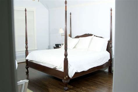 4 poster king bed four poster king size mahogany bed at 1stdibs