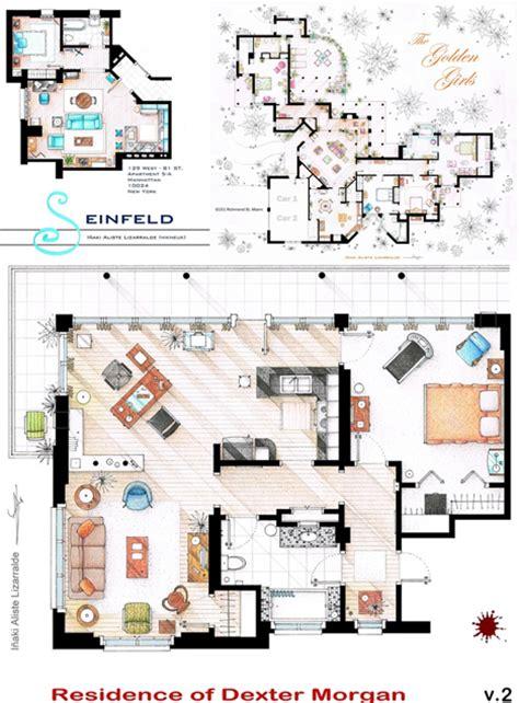 Famous Tv Home Floor Plans  House Design Plans