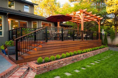 horizontal underpinning deck underpinning decking porch and patios