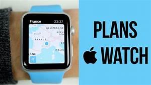 Apple Watch : Le fonctionnement du GPS avec Plans - YouTube