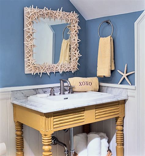 Refreshing Beach Bathroom Décor Ideas  Decozilla