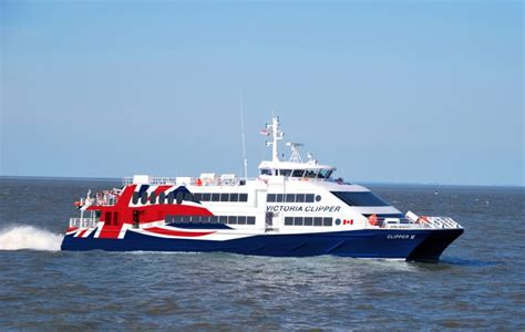 Ferry Boat From Seattle To Victoria by Clipper Cancels Plans For Victoria Vancouver Ferry
