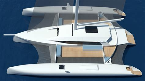 Schionning Catamaran Design by Trimaran Projects And Multihull News Tracer 1500tri