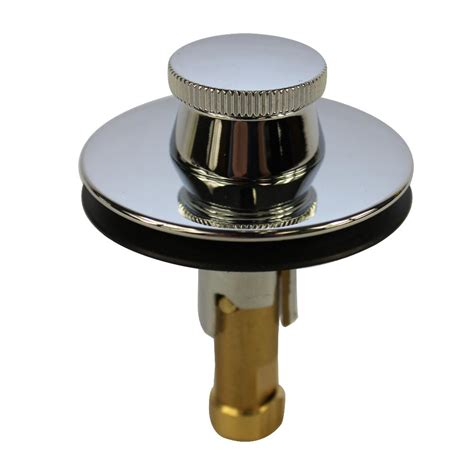 bathtub drain stopper removal lift and turn danco universal lift and turn drain stopper in chrome