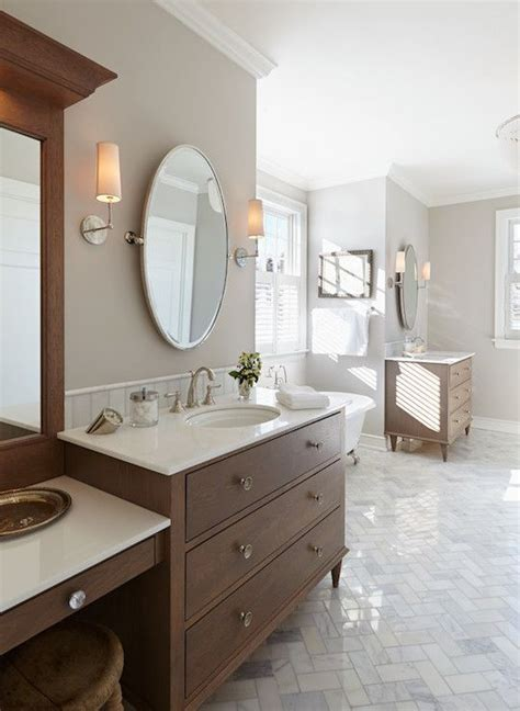 1000 ideas about oval bathroom mirror on half bath remodel powder rooms and