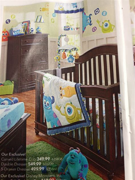 Monsters Inc Baby Bedding by Monsters Inc Bedding For Baby Baby