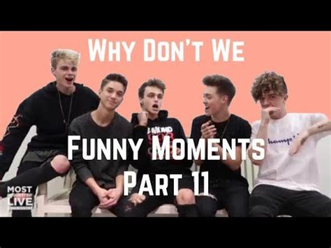 Why Don't We  Funny Moments Part 11 Youtube