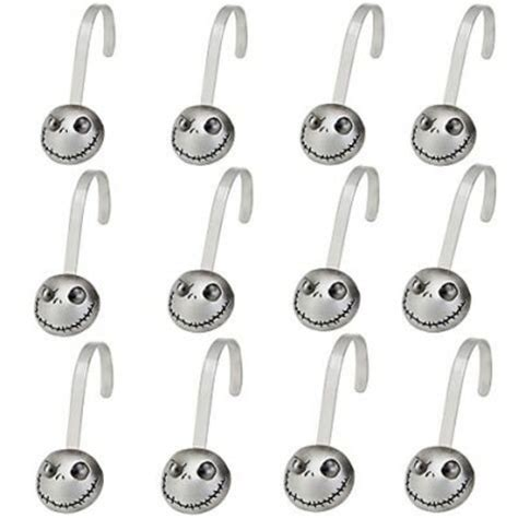 skellington 12 shower hook set from our