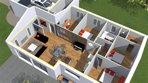 plan de maison 3d onetosix