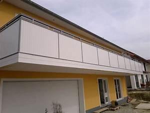 Bretter Für Balkongeländer : kunststoff wei ~ Markanthonyermac.com Haus und Dekorationen