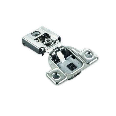 salice 106 176 silentia ff hinge plate 1 2 quot overlay dowel cur37d9 cabinetparts