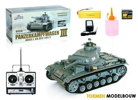 Toy Boat Olx by Heng Long Rc Tank 1 16 Pzkpfw Iii Ausf L Sd Kfz 141 1