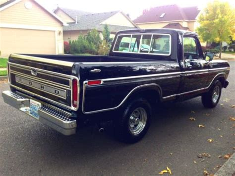 buy used 1978 ford f 100 ranger shortbox 2wd lariat xlt a c 1977 1979 1976 1975 1974 1973 in