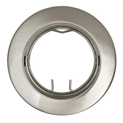 anneau pour spot 224 encastrer clane orientable sans oule inspire acier leroy merlin