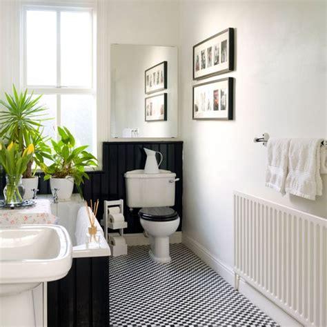 Black And White Bathroom  Bathroom Design  Housetohomecouk