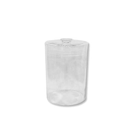 abat jour en verre transparent ou blanc cylindre des montagnes