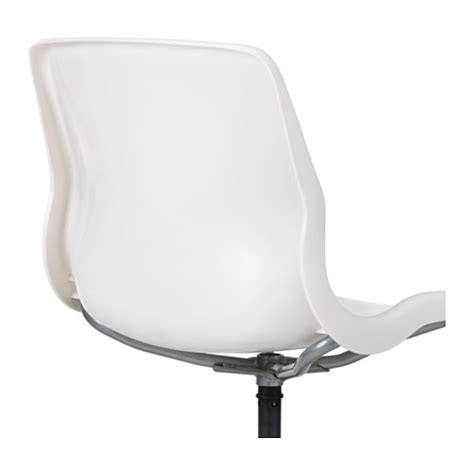 White Swivel Desk Chair Ikea by Ikea Snille Swivel Chair You Sit Comfortably Since The